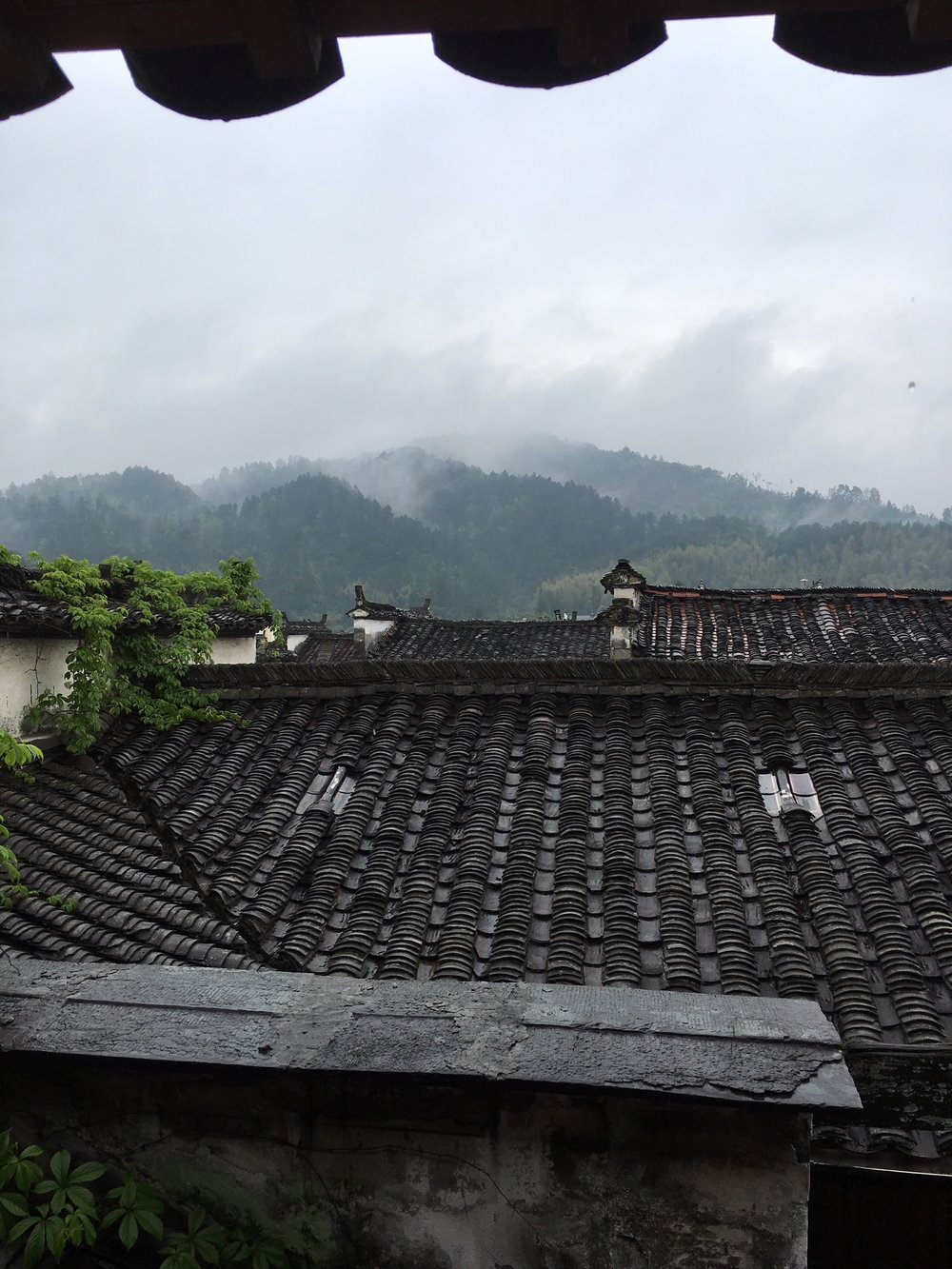 Roof of MingXun Garden lounge