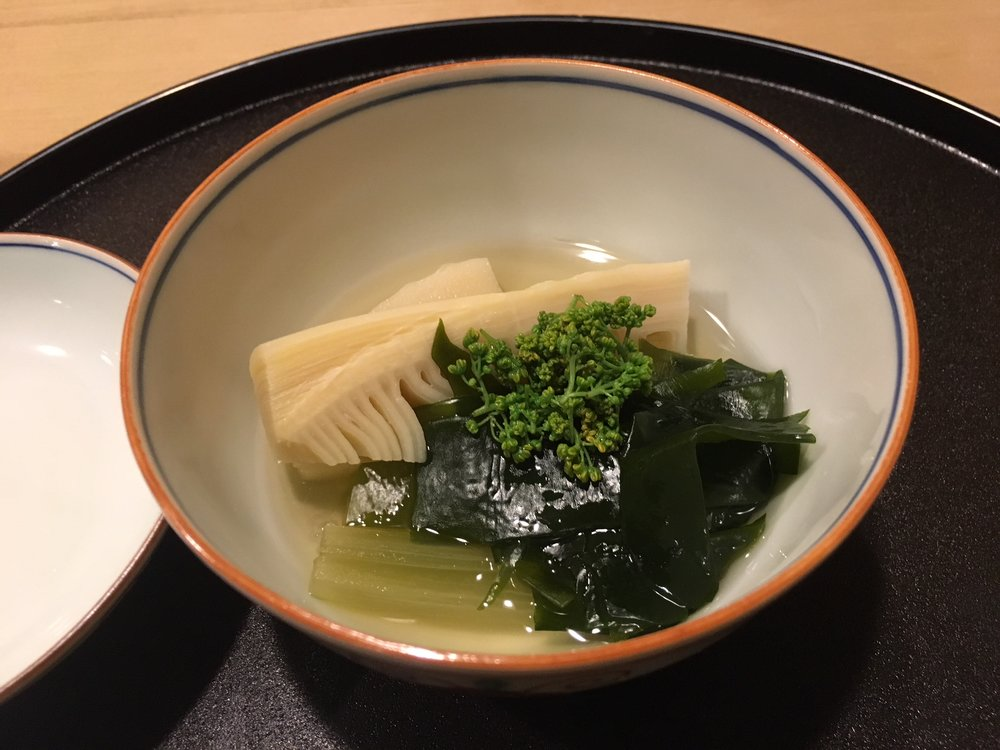 How can a spring dish without Takanoko! ( bamboo shoots)