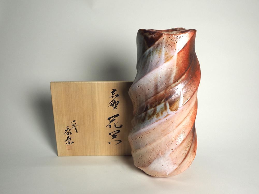 KATO Yasukage Shino Vase6.jpg