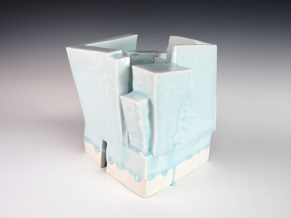 "YOSHIKAWA Masamichi | Celadon Sculpture ""Kayoh"""