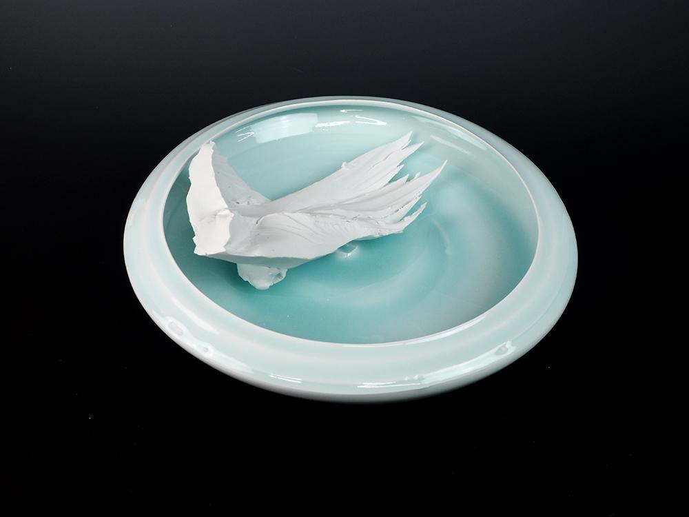 KATO Tsubusa Porcelain Sculpture %22Tokoro-Moon%22 No.9-1.jpg