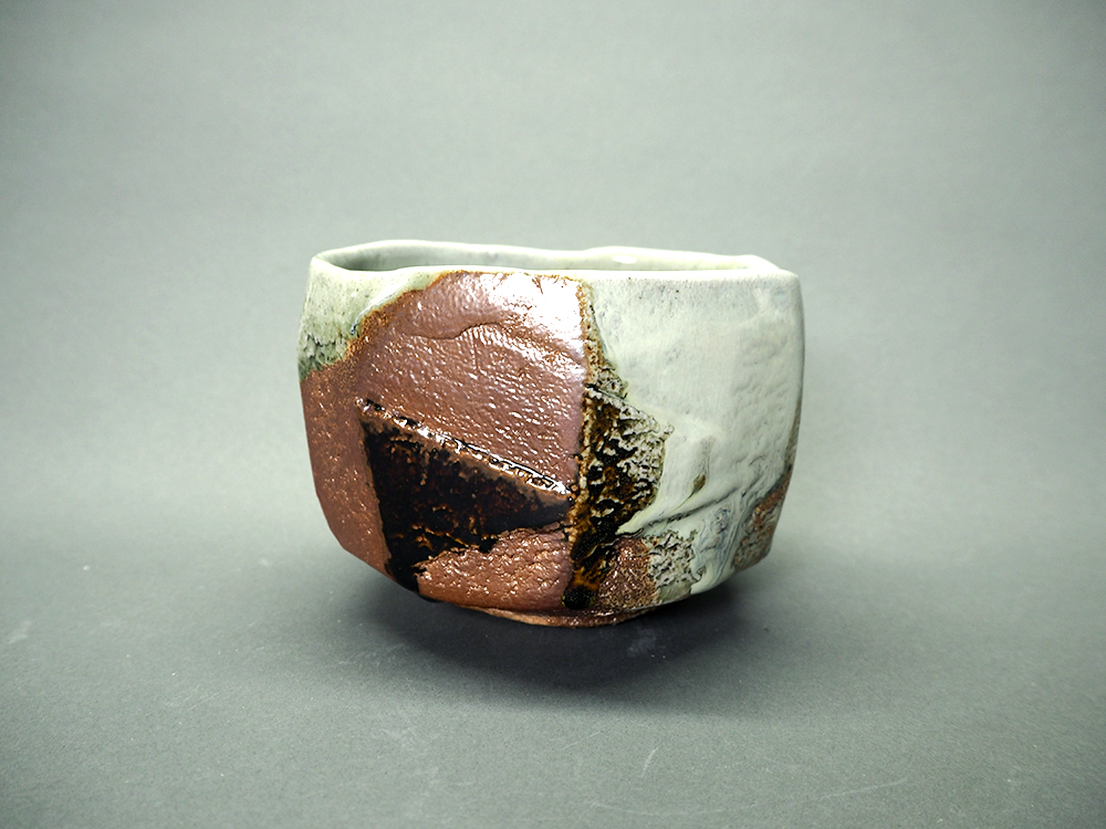 NISHIHATA Tadashi Ash Glazed White Tea Bowl2.jpg