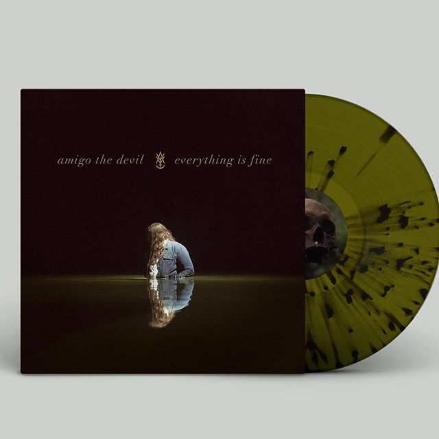 Did you preorder this beautiful @amigothedevil gem?? Oh you probably should! Go to his profile and snatch one up! . . #amigothedevil #murderfolk #vinyl #vinylrecord #album #music #albumart
