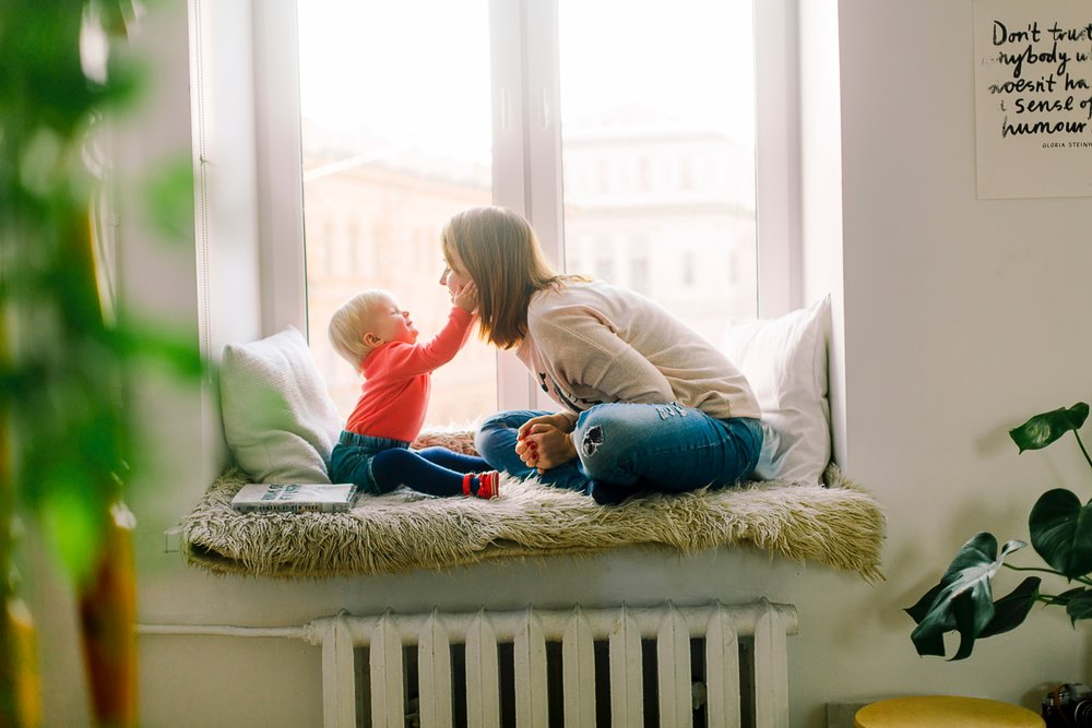 the needs of both the mother and/OR child CAN BE DISCUSSED IN ONE CONSULT. -