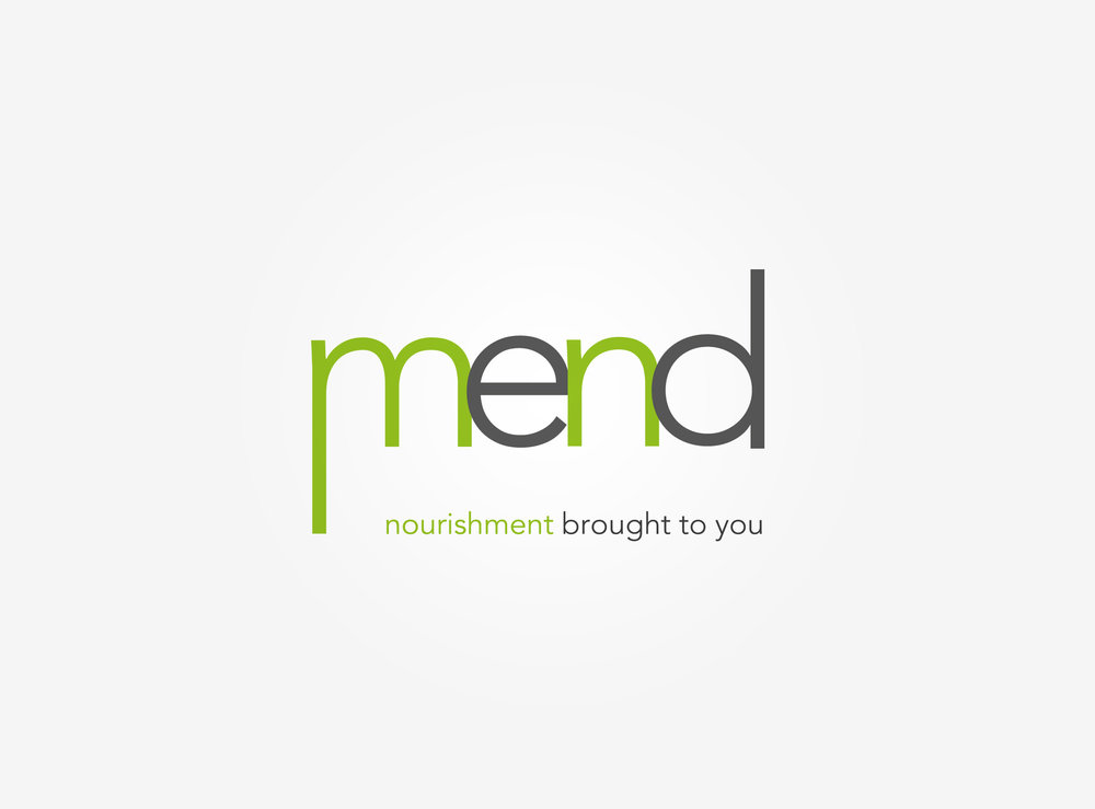 MEND   Mend provides healthy food options from local businesses and preventative health and wellness information to patients in hospitals and to those that are seeking alternative health care options.   Mend. Nourishment brought to you.