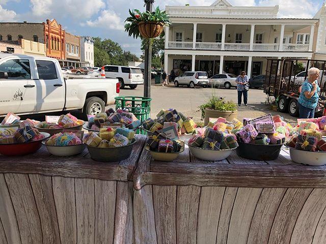 Goliad Market Days today!