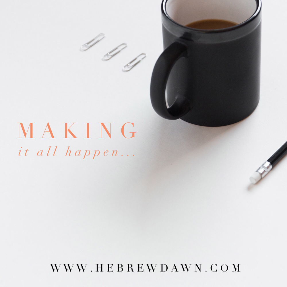 HebrewDawn: A Day in the Life - Working Woman