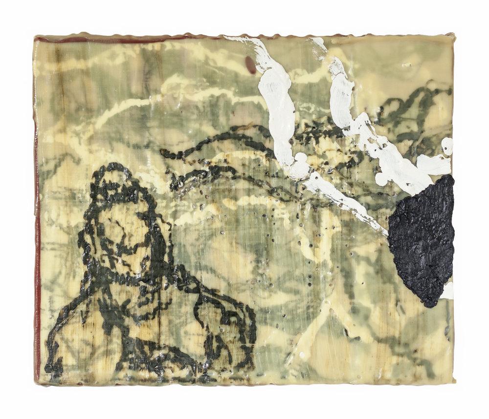 Randal-Arvilla-Figure-Triptych-1-Encaustic-Panel-I