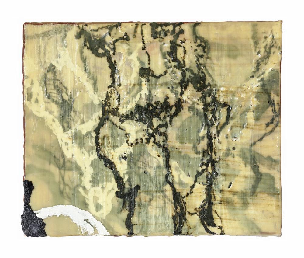 Randal-Arvilla-Figure-Triptych-1-Encaustic-Panel-II