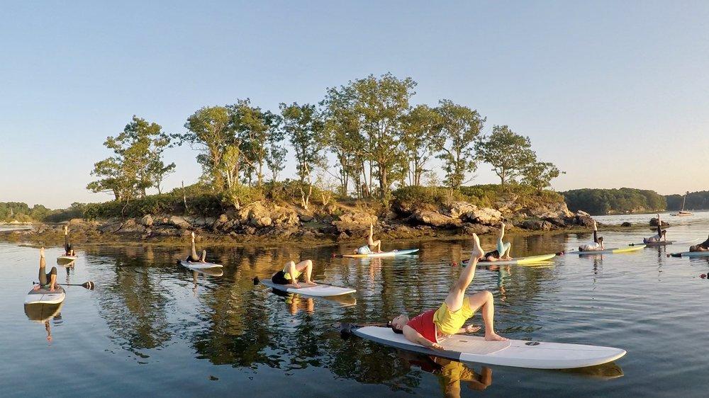 Paddle Board Yoga Prep