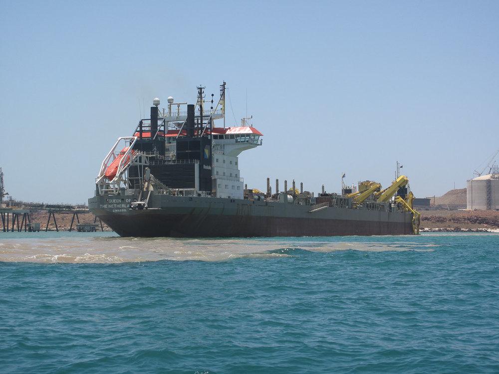Port Dredging.