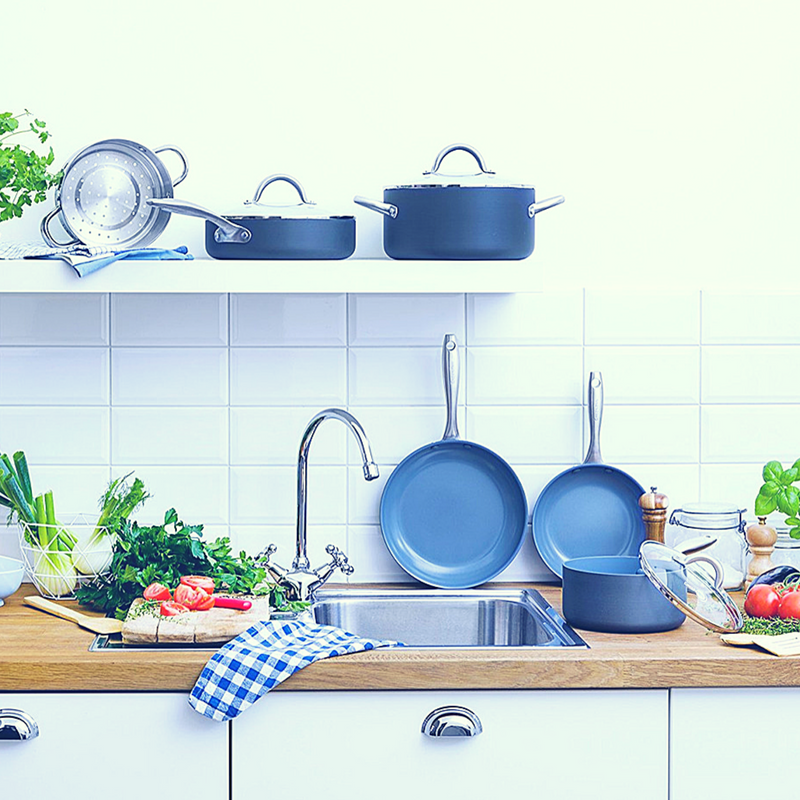 GREEN PAN - DETOX YOUR KITCHEN WITH100% NON-TOXIC COOKWARE
