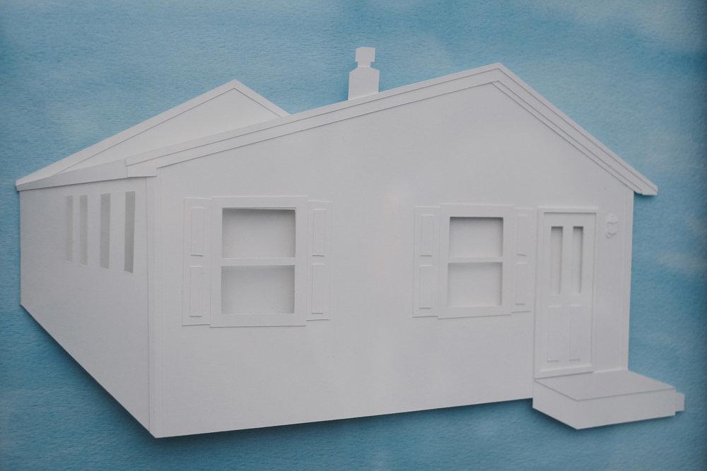 Paper house portraits!  http://www.yeiou.com