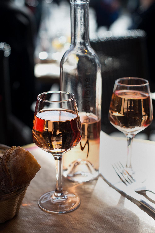 When in Paris, rosè