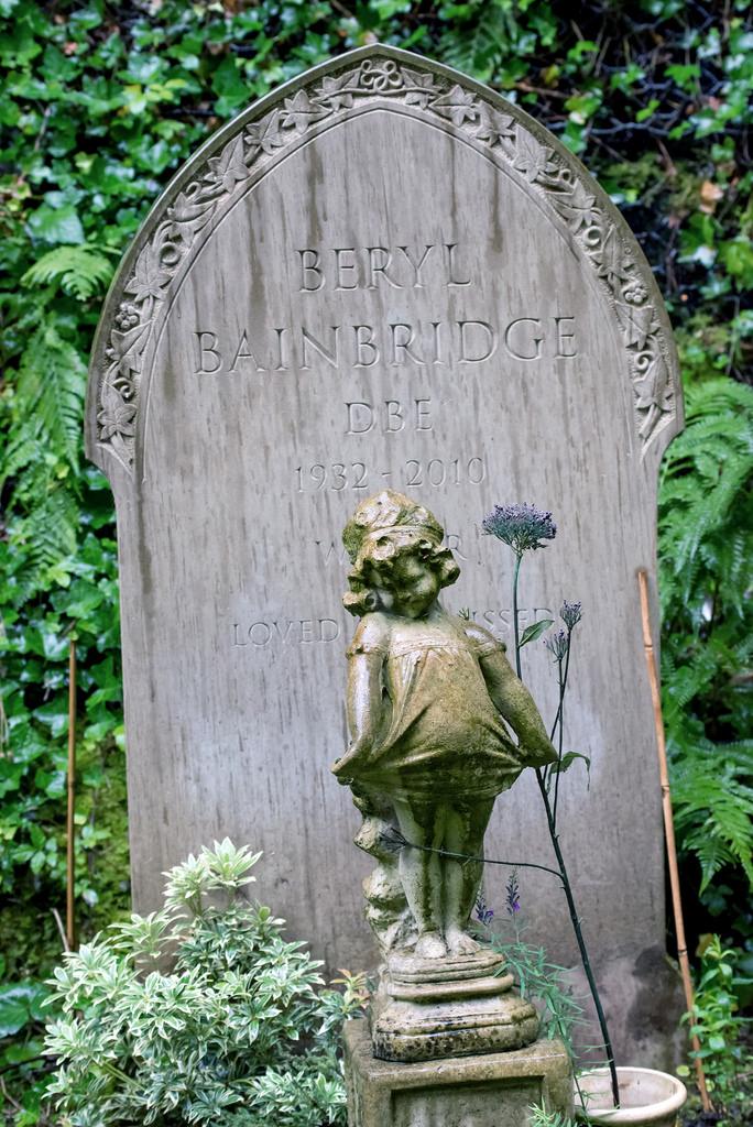 Beryl Bainbridge var en berømt forfatterinne, født i Liverpool