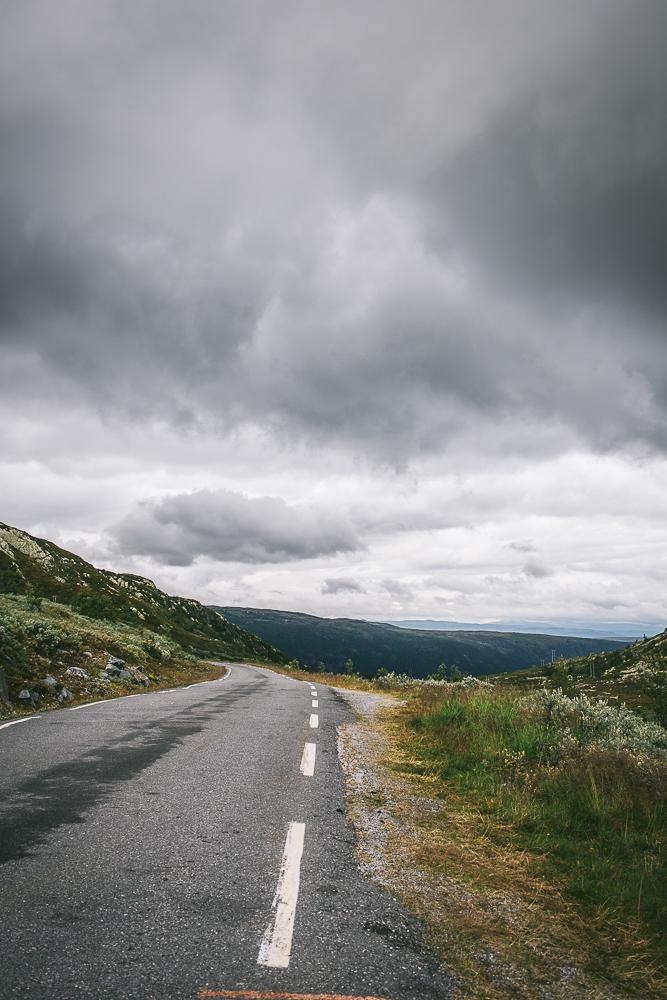 Veien over Gaustadtoppen