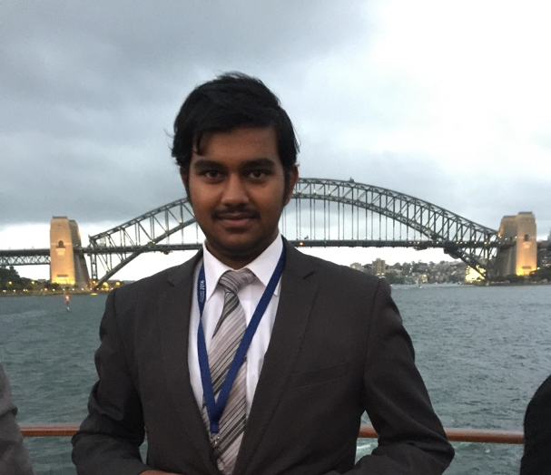 Ganesh Chandra, Vice-Preident Education   Hi! I've been a part of the society since 2016 and have been heavily involved in it since my first conference at NCMUN in 2016.  UNSOC has been a huge part of my Uni life and has developed many of my diplomacy skills. A key part of that, was the warm and friendly culture at UNSOC where more experienced delegates were always friendly, welcoming and happy to help out newer members.  UNSW UNSOC has allowed me to meet so many amazing and like-minded people both at UNSW and around Australia during the conferences, as well as getting the opportunity to travel! I am so excited for all the amazing events that are planned for this year!