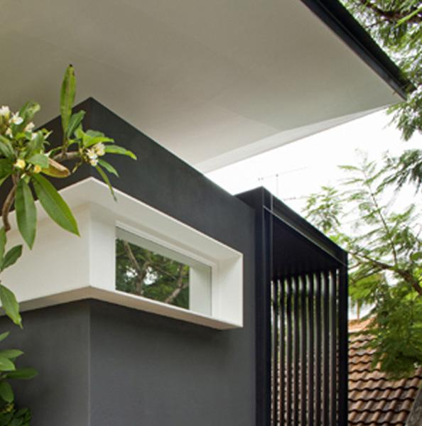 Dulux Colour Awards Commendation - Finalist, single residential exterior, commendation