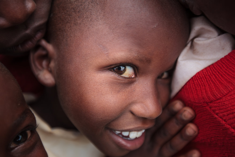 Student at Intimigon School, Kilgoris, Kenya