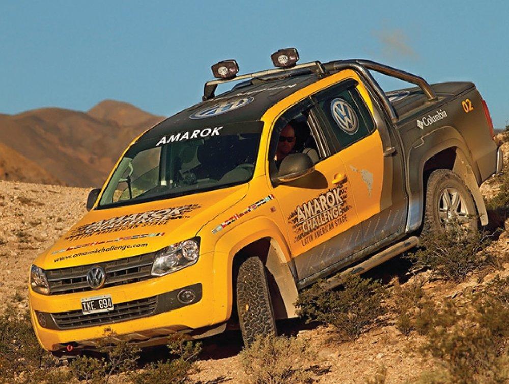 "VW Amarok   ""Amarok Challenge"" Travesía latinoamericana cruzando 14 países."