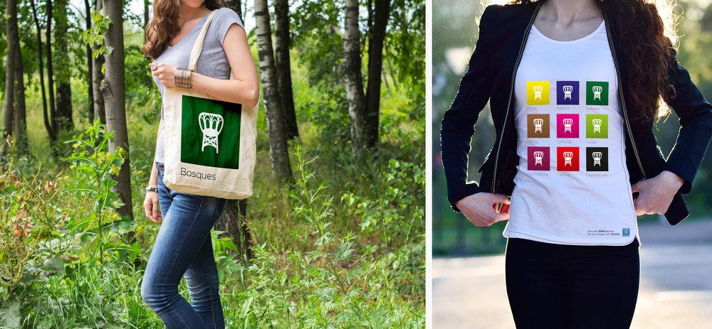 Bag & t-shirt