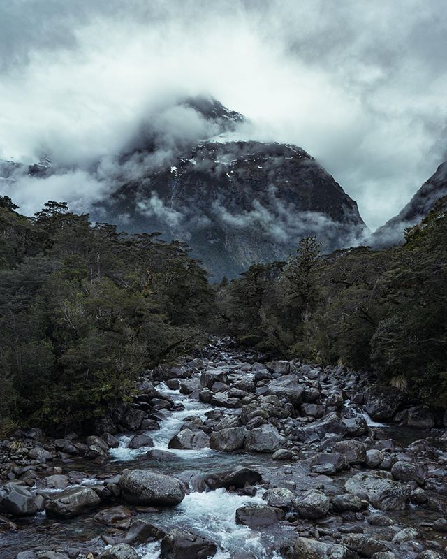 The Other Side of Milford Sound - Fun fact, Milford Sound is actually a fjord, meaning it was created by a glacier rather than a sound, created by a river. - 📍 Milford Sound - 📸 @sonyalpha