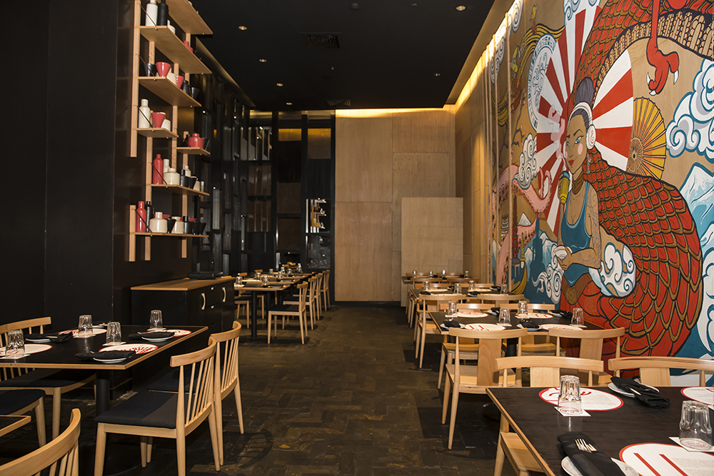 SRIRACHA CONTEMPORARY PAN-ASIAN DINING - UB CITY