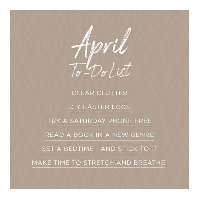 April we're ready for you! Let's see how many we can check off to make it a great month 👊🏻 __________  #homes #weekend #wellness #health #checklist #selflove #todolist #decor #interiordesign #homedecor #april #homeinteriors #bangalore #luxury #interiordecor #mood #design #wooden #love #style #april #interiorstyling #homedesign #architecture #interior #design #interiordesigner  #purespaces #iginteriors #home