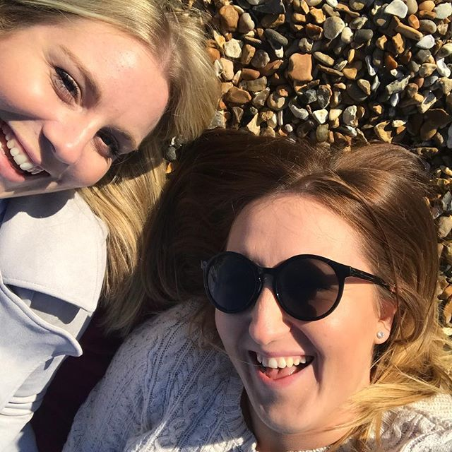 Turns out you don't need to be on the other side of the world to have the best day on the beach! 🏖 💕☀️ #friends #beachlife #felixstowe #travel #BFF #sunsout #ohidoliketobebesidetheseaside