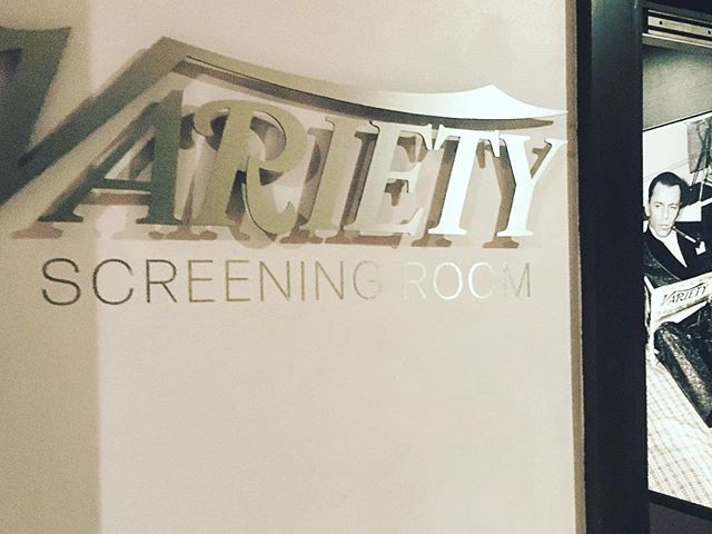 Just had our #RADAFestival site visit to the @variety Screening Room at The Sanctum Hotel. Frankly, it's awesome. 🎬🎹🔪 Get your tickets now and join us on June 30th!! @royalacademyofdramaticart @karmasanctumldn