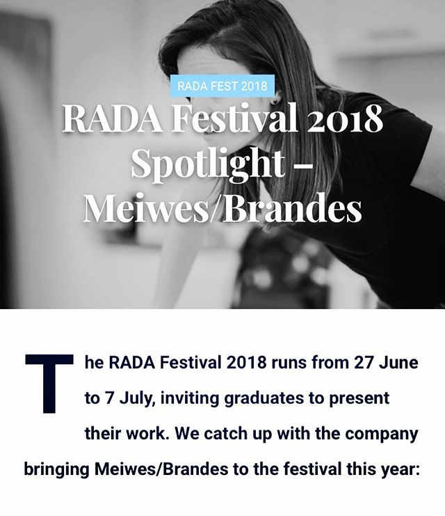 ¡MIRA! 👀 Check out our feature on @miromagazine and then get your tickets to see what all the fuss is about! #RADAFest
