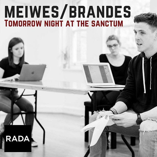 See you at @karmasanctumldn tomorrow night!