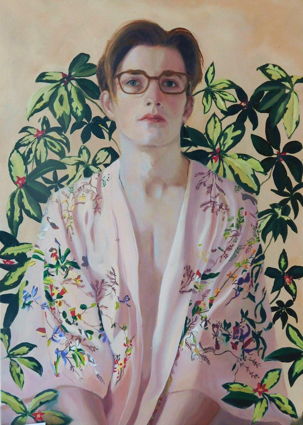 Niall 55 x 75 cm (framed)Oil on canvas £1,500