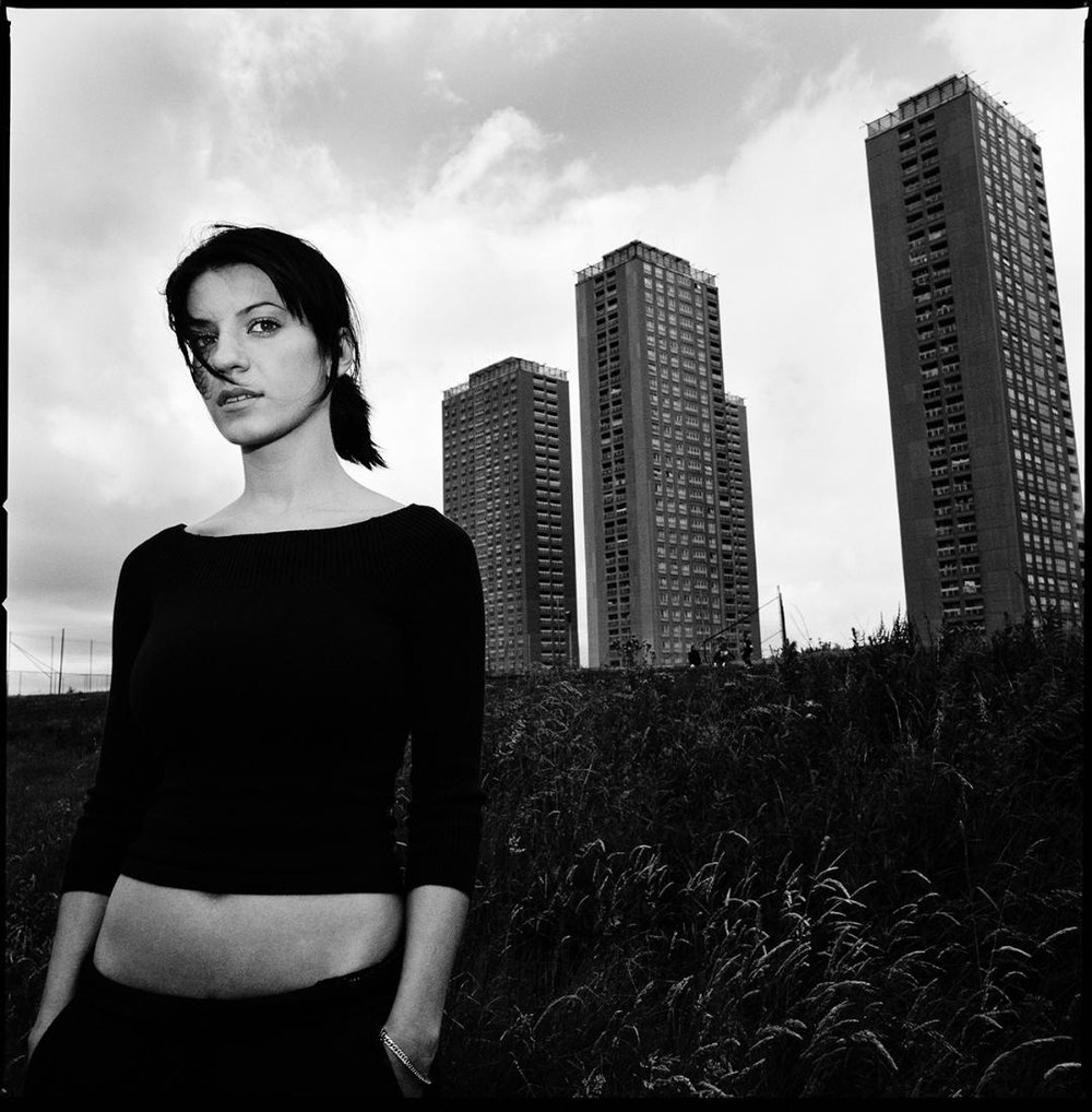 Njomza Dreshaj, Red Road Estate, Glasgow {2003};