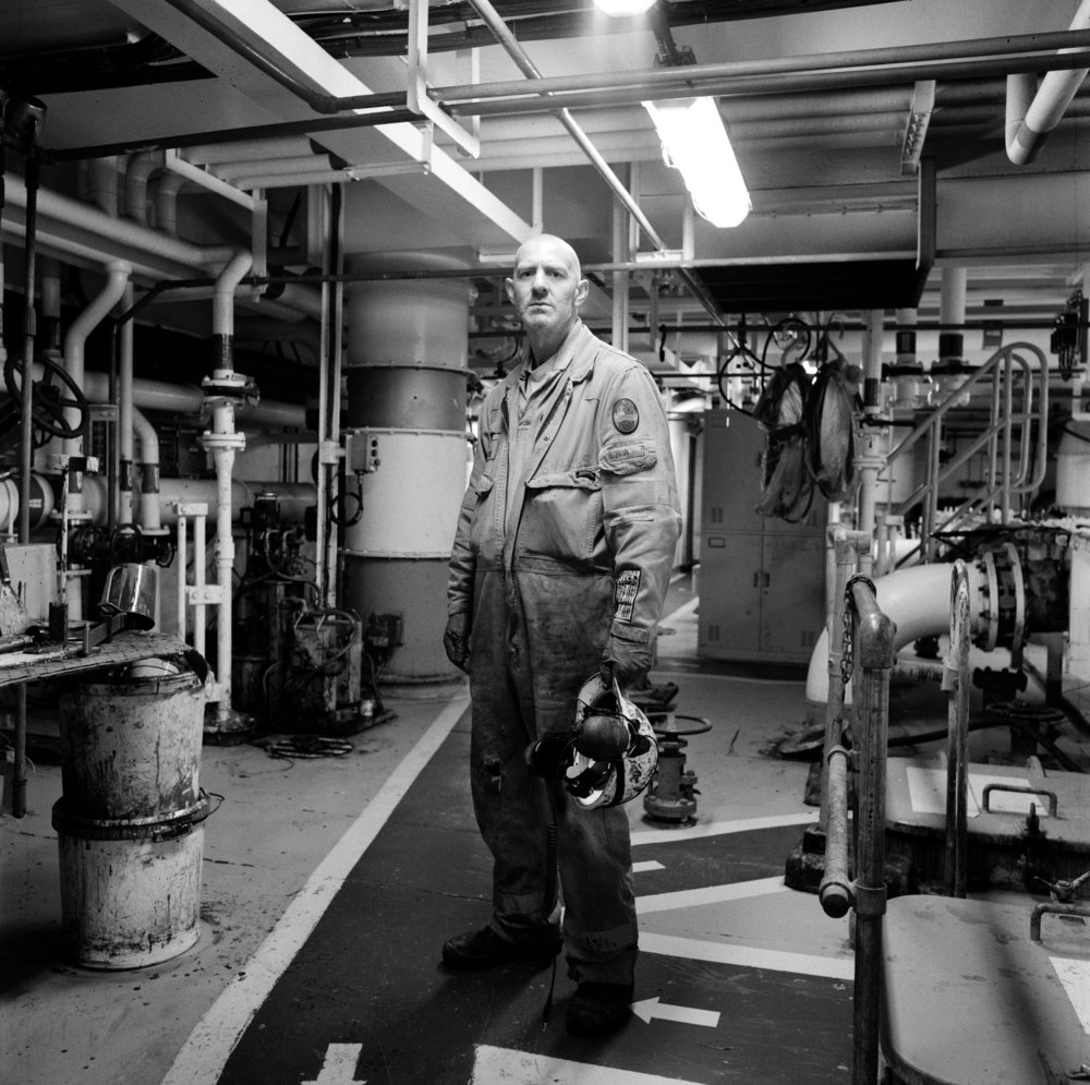 Peter Iain Campbell, Snakes' Pump man, Central North Sea