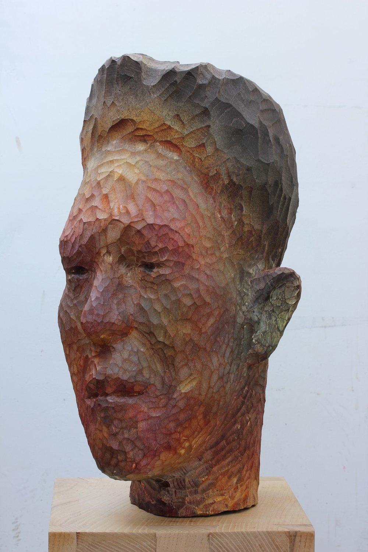 SPA Exhibition 2018 55 x 30 x 35 cm, Sycamore/ink £4,300