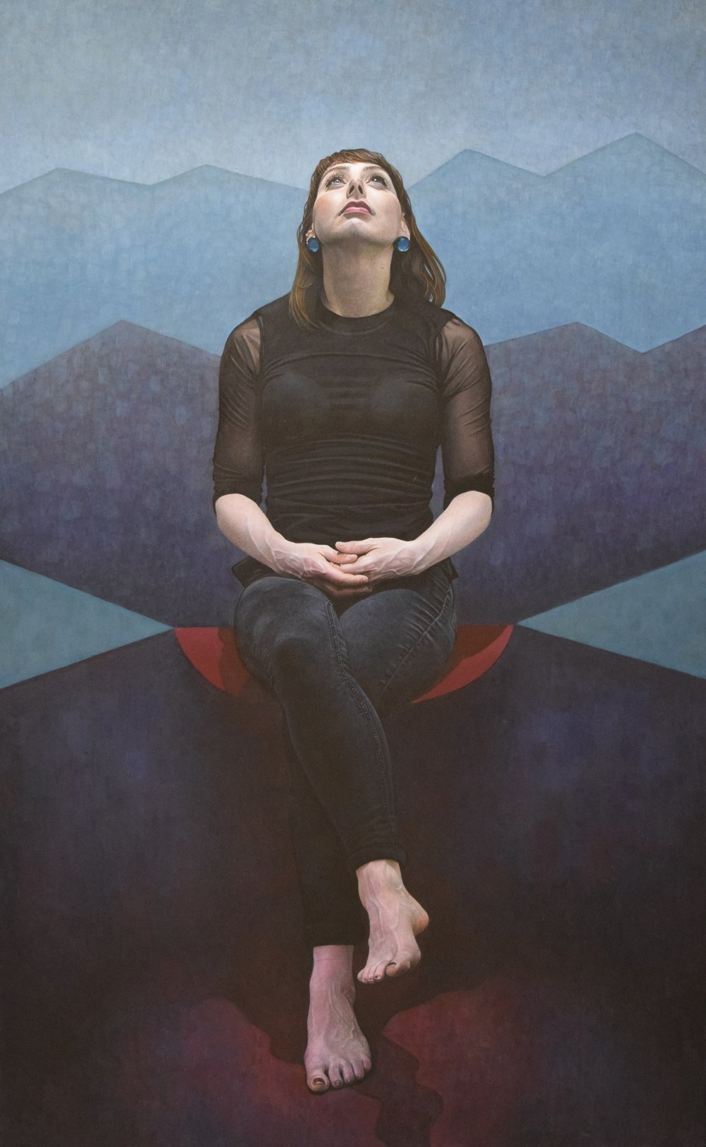 DANIEL MURRAY, Jané Seated, First Prize, SPA Fine Art 2018