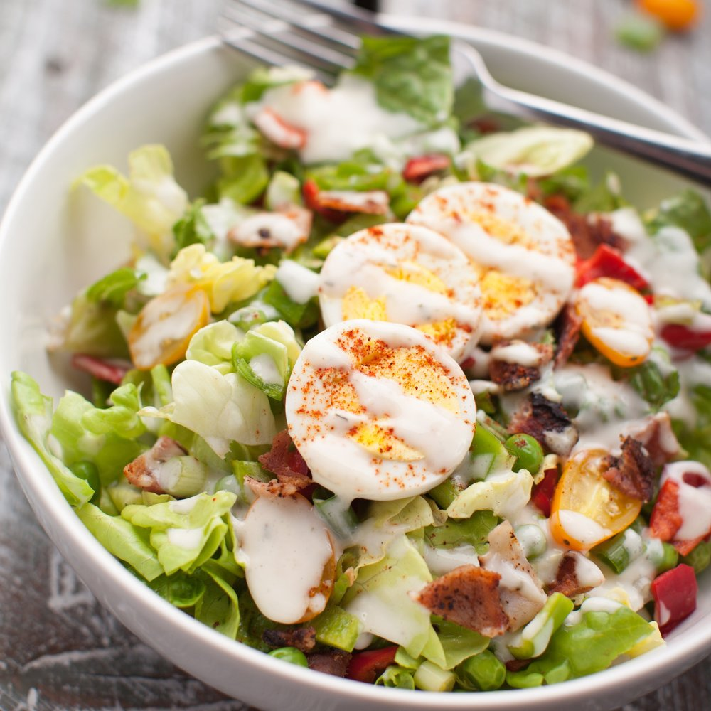 Apple Cobb Salad -