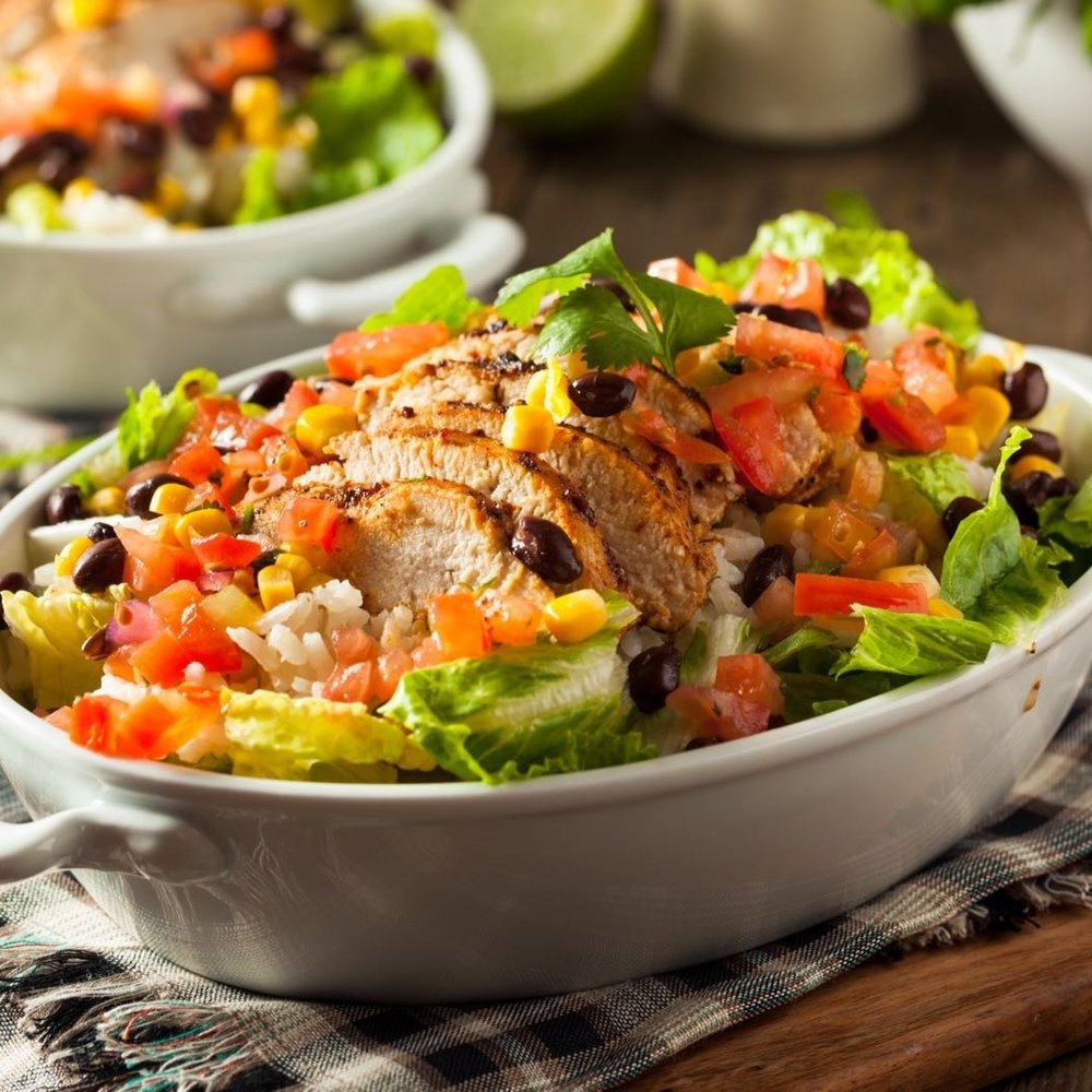 Turkey Taco Bowl -