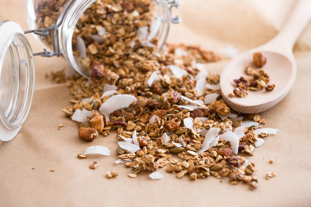Grain Free Honey & Vanilla Granola -