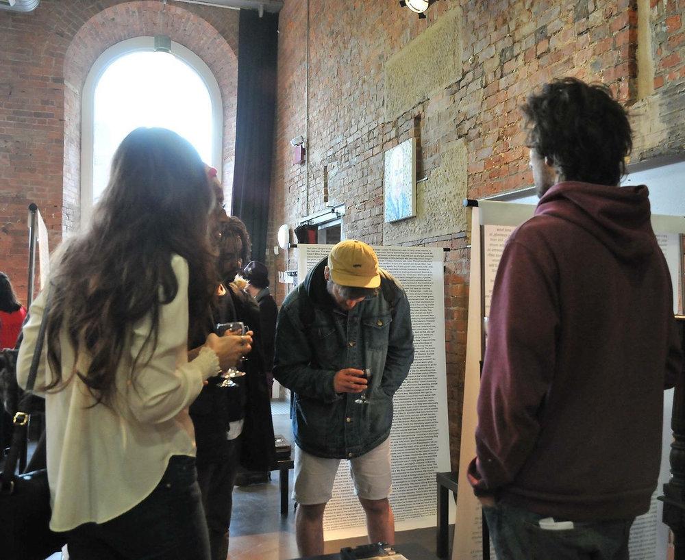 Installation view: International Anthony Burgess Foundation, Manchester, UK