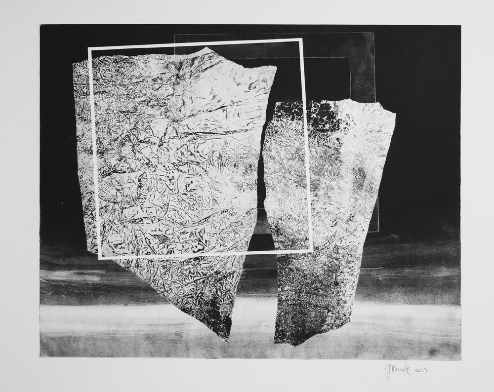 Forms on black 13 (53 cm x 43 cm)