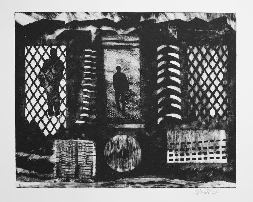 N.Y. W 116th  (53 cm x 43)