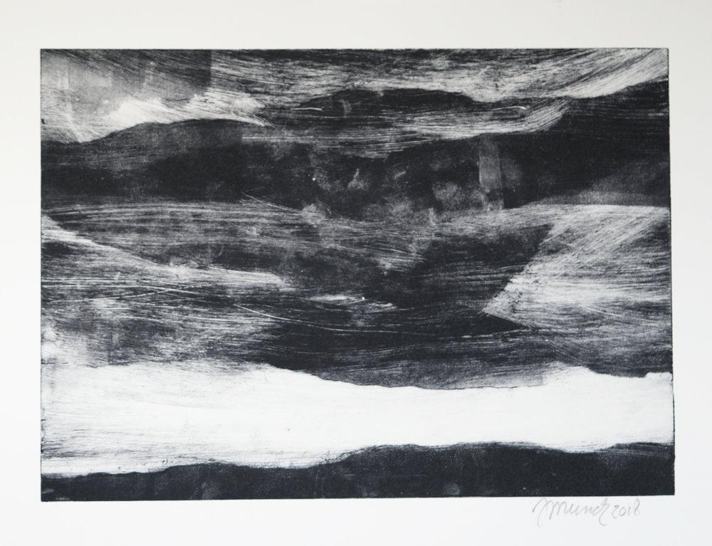 Dark landscape (I) (34 cm x 24 cm)