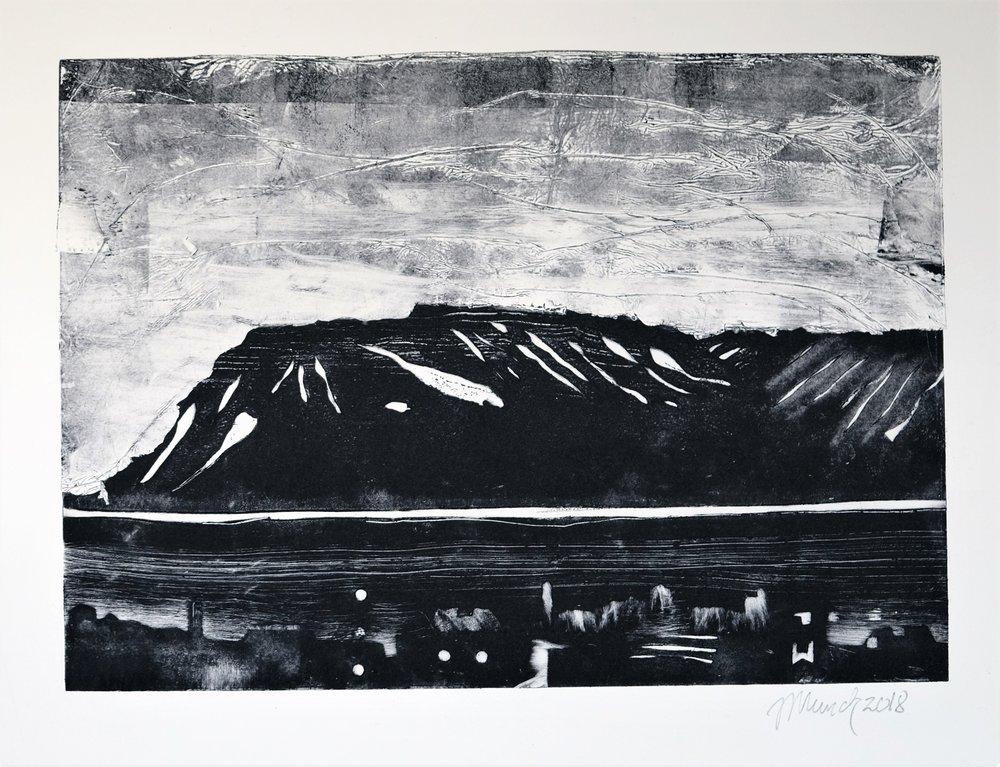 Esja (II),Iceland (34 cm x 24 cm)