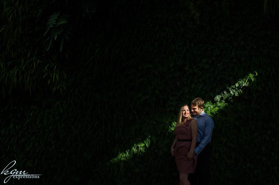 Longwood Gardens Engagement