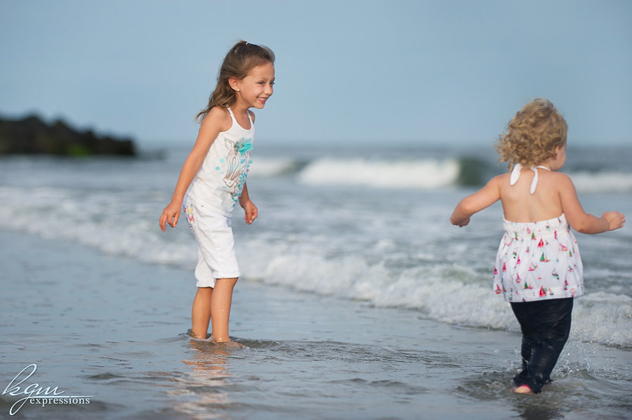 Sea Isle Beach Family Portrait