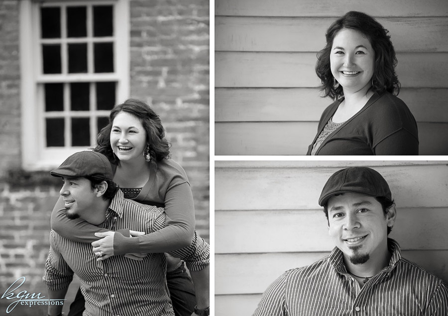 Allaire State Park Engagement