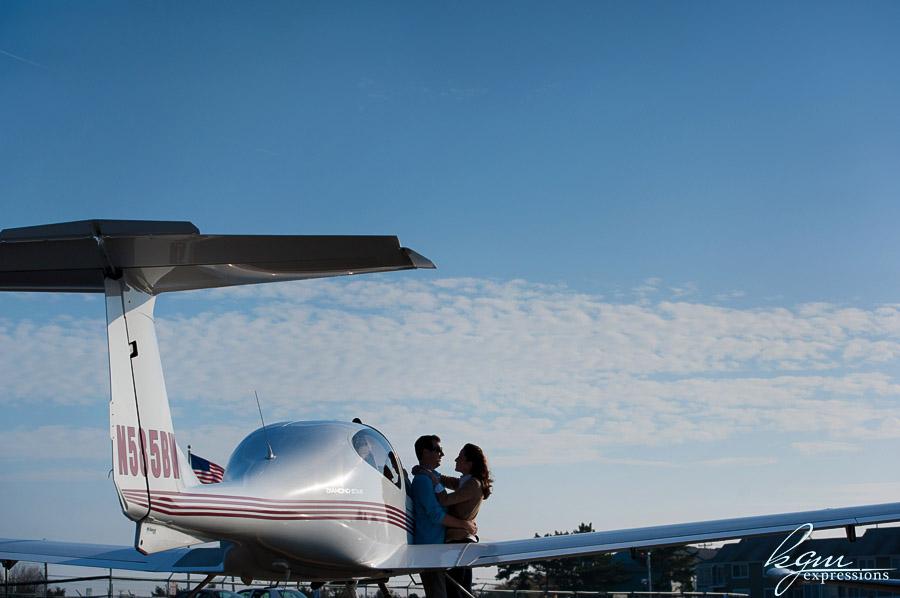 Ocean City Plane Engagement