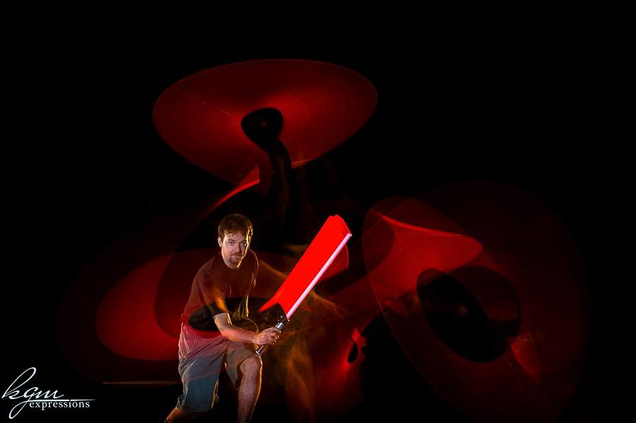 light saber fight